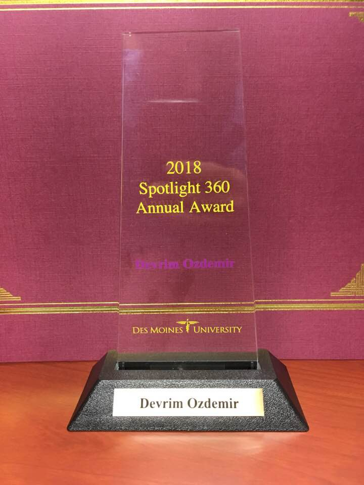 2018 spotlight 360 Annual Award